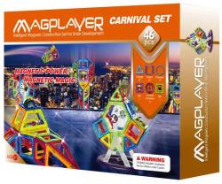 Magplayer Joc de Constructie Magnetic 46 Piese MPB-46