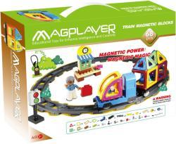 Magplayer Joc de Constructie Magnetic 68 Piese MPK-68