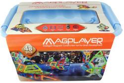 Magplayer Joc de Constructie Magnetic 48 Piese MPT-48