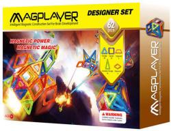 Magplayer Joc de Constructie Magnetic 62 Piese MPB-62