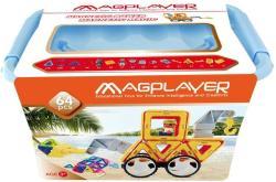 Magplayer Joc de Constructie Magnetic 64 Piese MPT-64