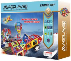 Magplayer Joc de Constructie Magnetic 72 Piese MPB-72