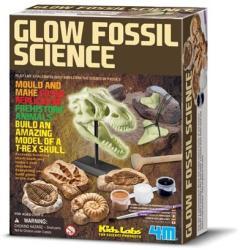 4M Kidz Labs - Glow Fossil Science - Foszforeszkáló őskövület készlet