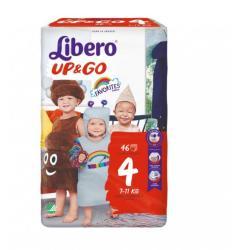 Libero Up&Go 4 Maxi Super Hero Edition (7-11kg) 46db
