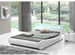 Tempo Kondela Filida modern ágy laminált ráccsal RGB LED világítással 180x200cm