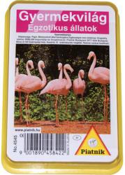 Piatnik Gyermekvilág Egzotikus állatok kártyajáték
