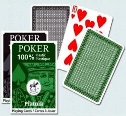 Piatnik 100% Plasztik pókerkártya 1*55 lap