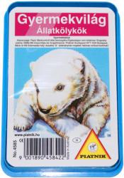 Piatnik Gyermekvilág Állatkölykök kártyajáték
