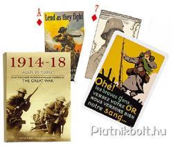 Piatnik Az I. világháború 1914-1918 Exkluziv römikártya