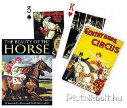 Piatnik Csodálatos lovak Exkluzív römikártya
