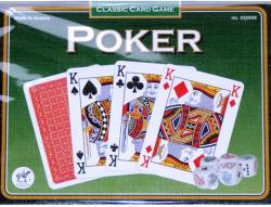 Piatnik Pókerkártya kockával