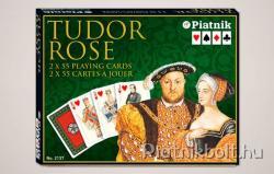 Piatnik Tudor Rose Luxus römikártya
