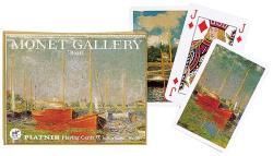 Piatnik Monet-hajók Művész römikártya 2*55 lap