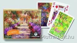 Piatnik C. Monet Művész römikártya