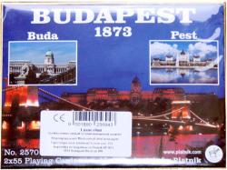 Piatnik Budapest 1873 Luxus römikártya