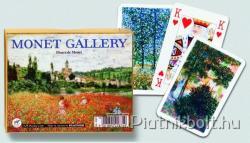 Piatnik Fleurs de Monet Művész römikártya 2*55 lap