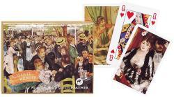 Piatnik Auguste Renoir Művész römikártya 2*55 lap