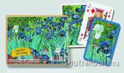 Piatnik Vincent van Gogh Iris Művész römikártya