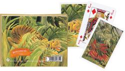 Piatnik Rousseau- Tigris Művész römikártya
