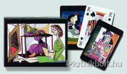 Piatnik Picasso 2*55 lapos Művész römikártya