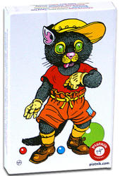 Piatnik Fekete Péter kártyajáték - állatos