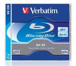 Verbatim Blu-Ray BD-RE 25GB 2x