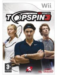 2K Games Top Spin 3 (Wii)