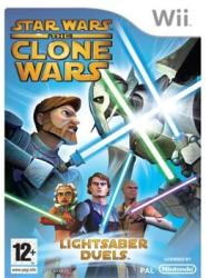 LucasArts Star Wars The Clone Wars Lightsaber Duels (Wii)