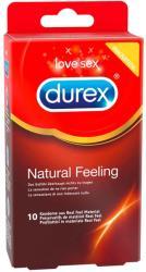 Durex Natural Feeling latexmentes óvszer 10db