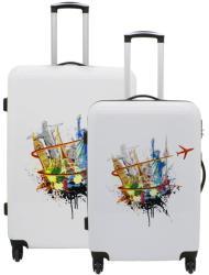 F|23 Voyage 2db-os bőrönd szett (77050-12)