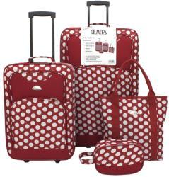 Gilmers 4 db-os bőrönd szett (77047-4)