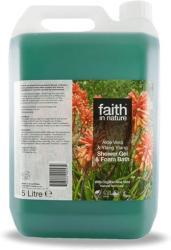 Faith in Nature Bio Aloe Vera & Ylang Ylang Tusfürdő 5000ml