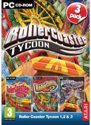 Atari RollerCoaster Tycoon 1, 2 & 3 (PC)