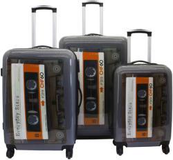 F|23 Voyage 3db-os bőrönd szett (77051-1)