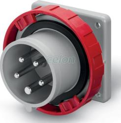Scame Fisa industriala 3P+N+E OPTIMA 16A 6h IP66/IP67/IP69 248.1697 - Scame (248.1697)