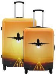 F|23 Voyage 2db-os bőrönd szett (77050-62)