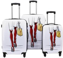 F|23 Voyage 3db-os bőrönd szett (77046-4)