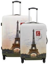 F|23 Voyage 2db-os bőrönd szett (77050-32)