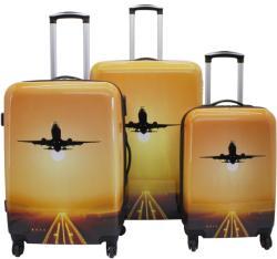 F|23 Voyage 2db-os bőrönd szett (77050-6)
