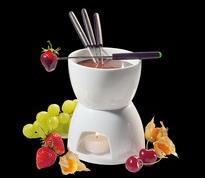 Cilio, Германия Комплект порцеланово фондю за шоколад Cilio (104417)