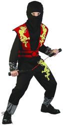 Casallia Ninja jelmez maszkkal - M-es méret (824590)