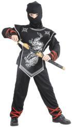 Casallia Ezüst ninja jelmez maszkkal - S-es méret (861496)