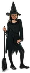 Amscan Fekete boszorkány jelmez - 134cm-es méret (997480)