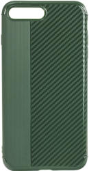 Star Husa Capac Spate Carbon Verde Apple iPhone 7 Plus, iPhone 8 Plus (PINCARBON_IPH78PGREEN)