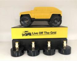Tiverton Live Off The Grid EDP 4x25ml