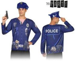 Th3 Party Rendőr férfi póló jelmez felnőtteknek (7598)