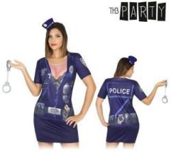 Th3 Party Rendőr nő póló jelmez felnőtteknek (6528)