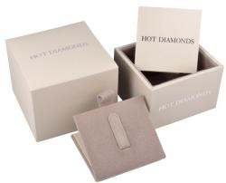 Hot Diamonds Ezüst fülbevaló Hot Diamonds Eternity Interlocking Silver Stud DE308