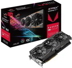 ASUS Radeon RX VEGA56 OC 8GB HBM2 2048bit PCIe (ROG-STRIX-RXVEGA56-O8G-GAMING)
