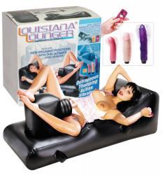 Ágy beépített szexgéppel